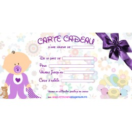 Carte cadeau - Attaches And Perles