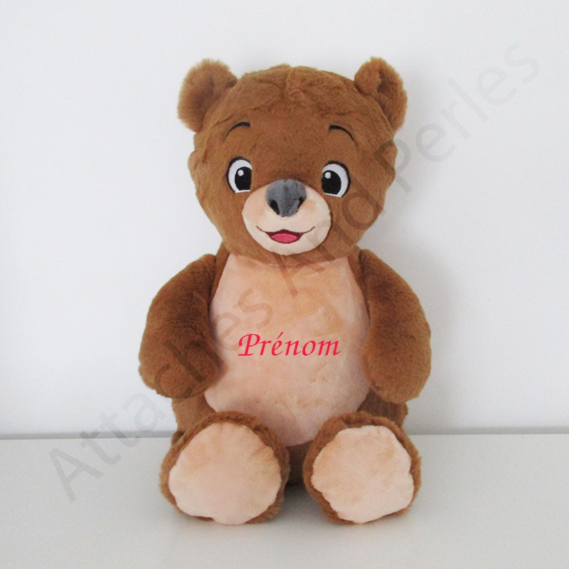 Peluche ourson - Attaches And Perles