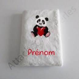 Carnet de santé panda personnalisable - Attaches And Perles