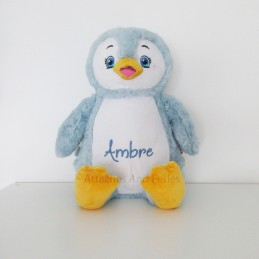 Peluche pingouin - Attaches And Perles