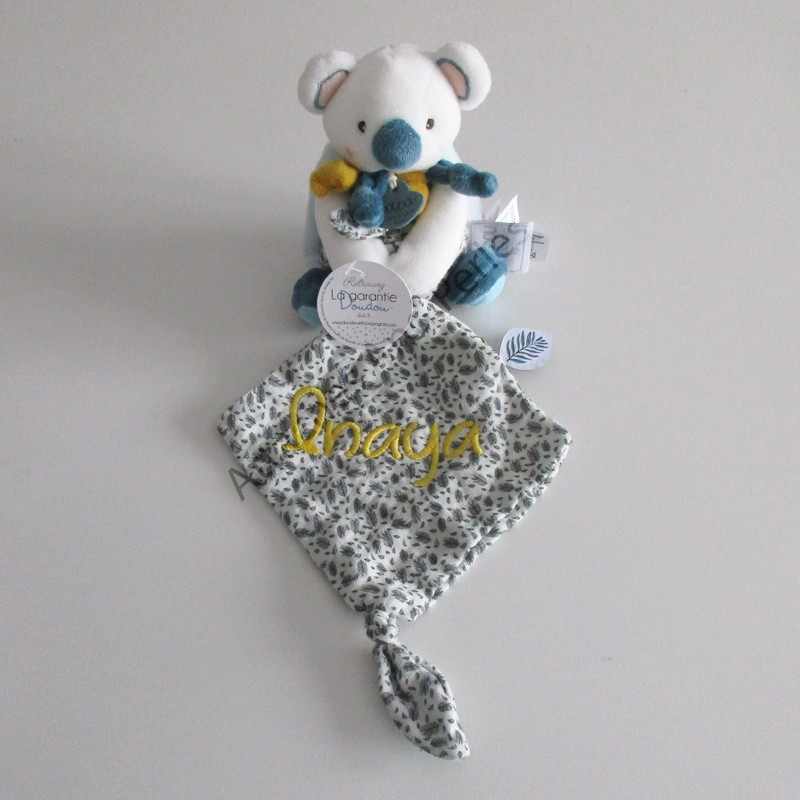 Doudou Yoka le Koala doudou et cie personnalisable - Attaches And Perles