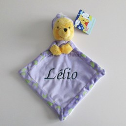 Doudou winnie personnalisable - Attaches And Perles